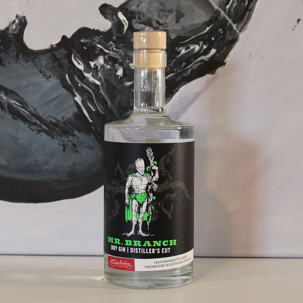 SP23 Mr. Branch Gin mit Rieslingtrauben 49 %vol. 0,5 l 36,00 €