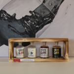 P25 Ginminiaturen in Holzbox 28-41-44%vol. 4 x 4cl 30,00 €